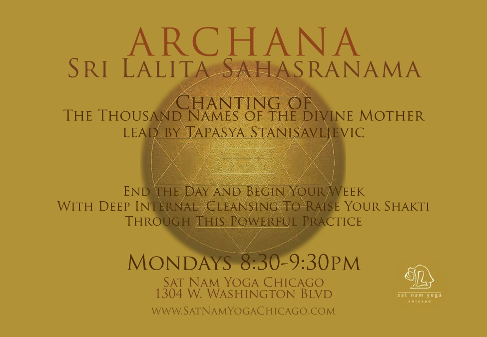 Weekly Archana Chanting Class