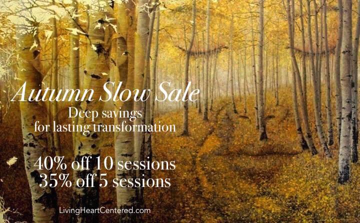 Autumn Slow Sale