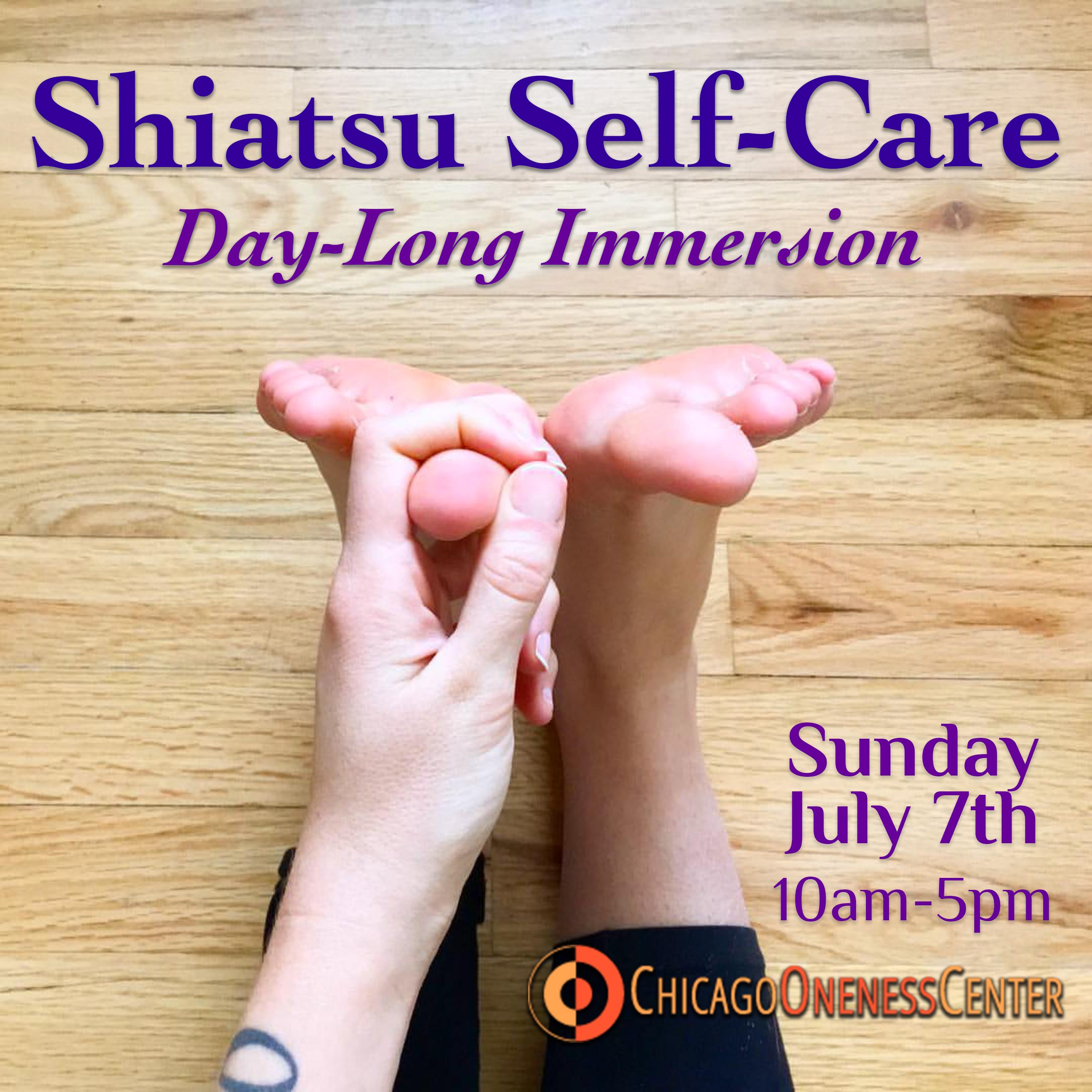 Shiatsu Self-Care Workshop